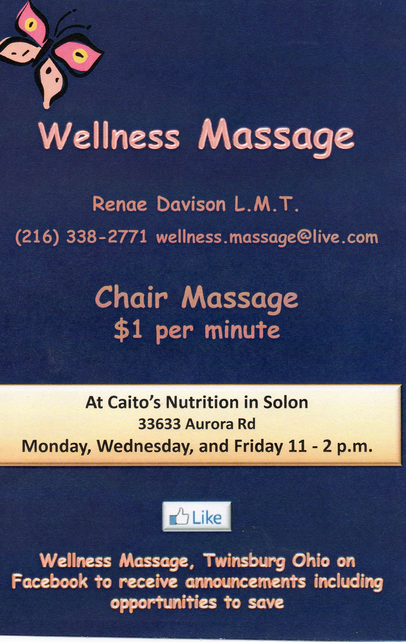 Massage Flyer Template Free Best Of Wellness Massage Ohio