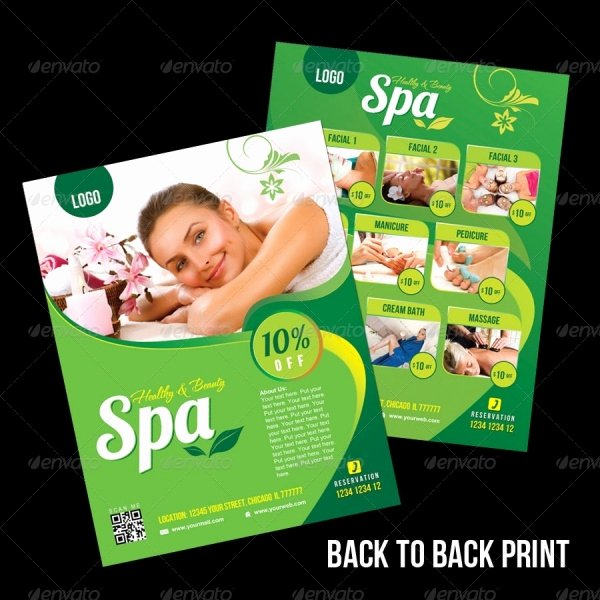 Massage Flyer Template Free Fresh 28 Stunning Massage Flyer Templates Word Psd Eps Vector formats