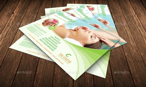 Massage Flyer Template Free Luxury 28 Stunning Massage Flyer Templates Word Psd Eps Vector formats
