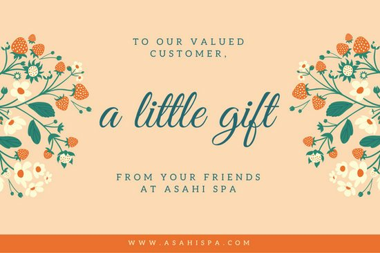 Massage Gift Certificate Template Awesome orange Floral Massage Gift Certificate Templates by Canva