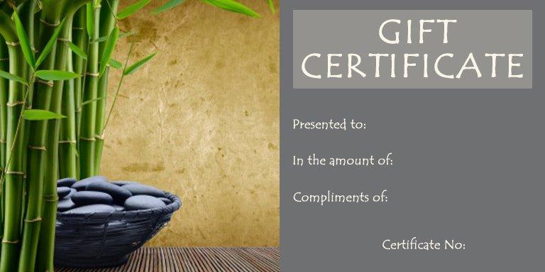 Massage Gift Certificate Template Beautiful Egift Cards Alex Stampfl Massage & Bodywork