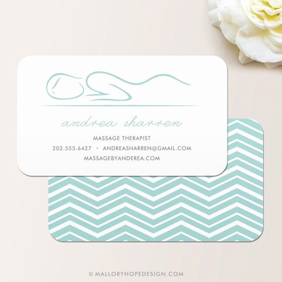 Massage therapist Business Cards Example Lovely Masseuse Masseur Massage therapist Business Card Calling Card Mommy Card Contact Card