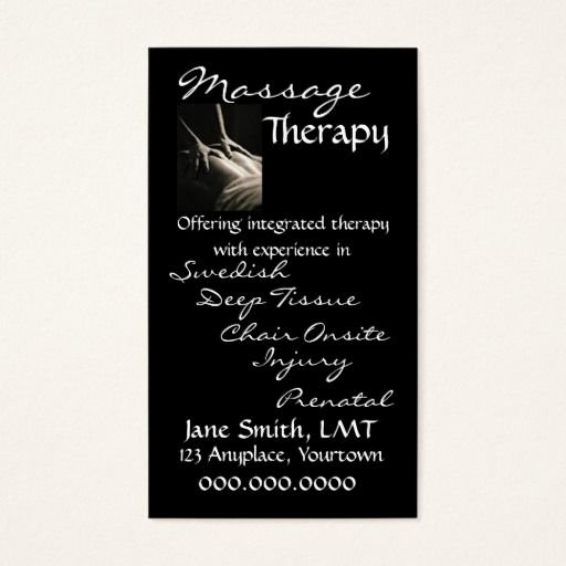 Massage therapy Business Cards Beautiful 303 Best Massage Business Cards Images On Pinterest