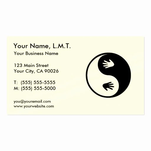 Massage therapy Business Cards Inspirational Massage therapy Business Cards