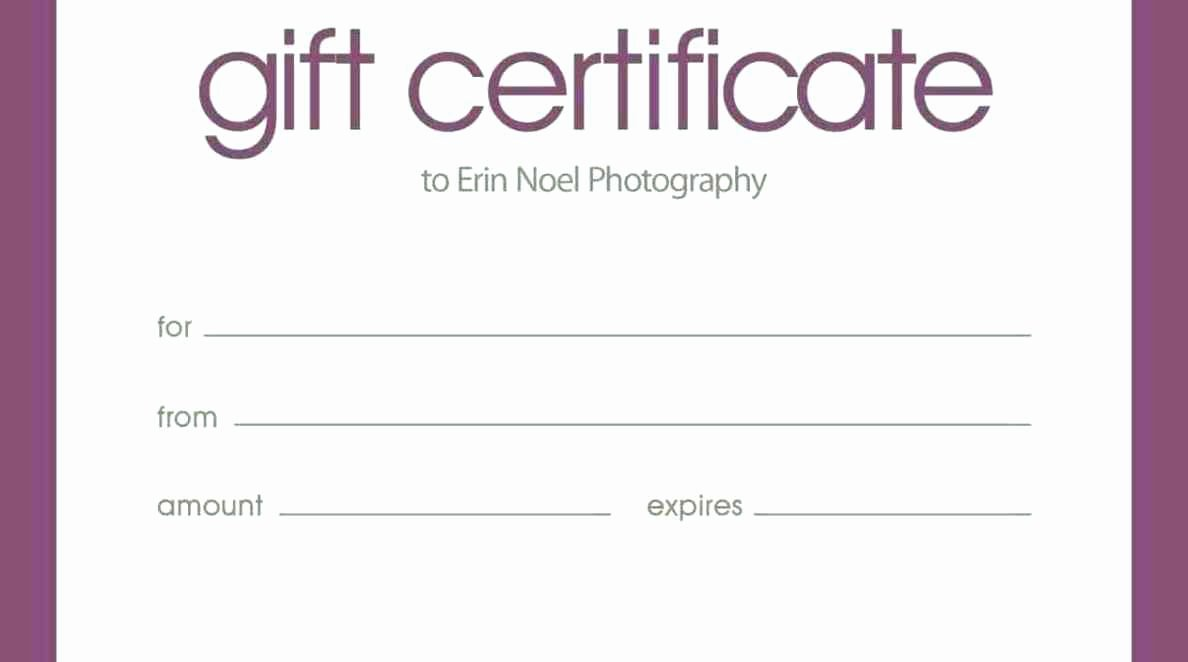 Massage therapy Gift Certificate Template Fresh Blank Massage Gift Certificates Template Update234 Template Update234