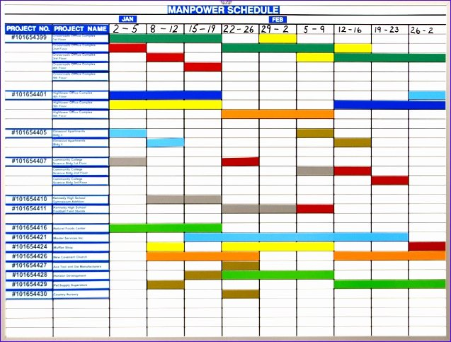 Master Production Schedule Excel Awesome 10 Excel Production Schedule Template Exceltemplates Exceltemplates