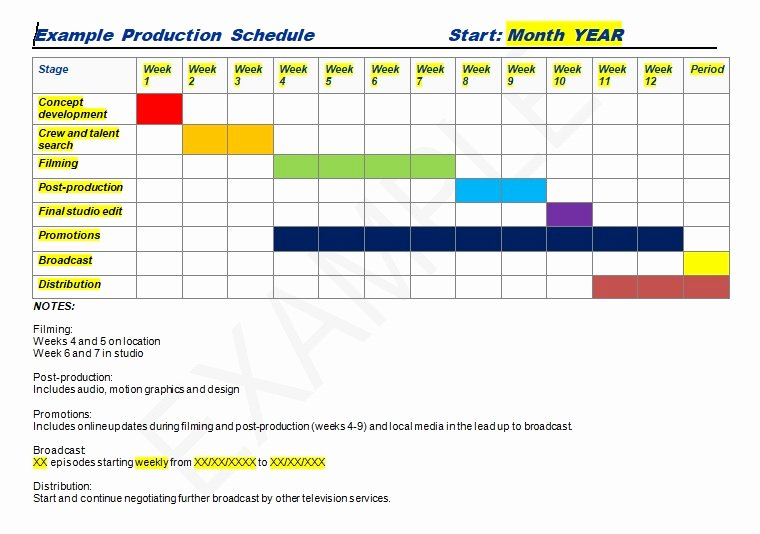 Master Production Schedule Template Excel Awesome Production Schedule Template Excel & Word Excel Tmp