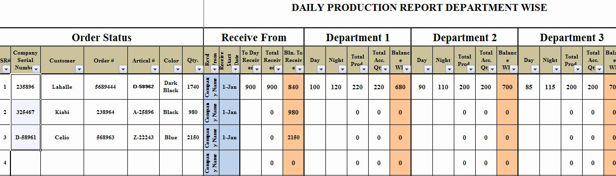 Master Production Schedule Template Excel Fresh Excel Based Daily Production Planning Template Trainingable