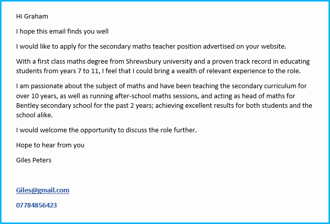 Masters Candidate Email Signature Inspirational 12 Cv Cover Letter Examples