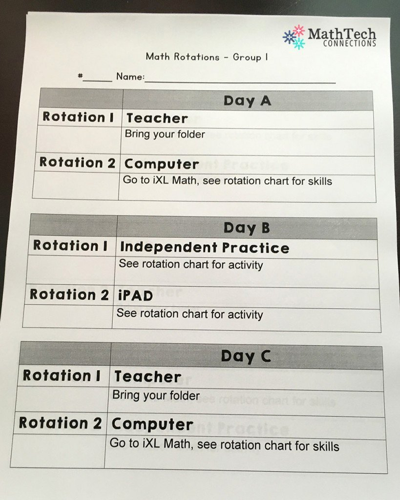 Math Lesson Plan Template Awesome How to Plan & organize Differentiated Math Groups