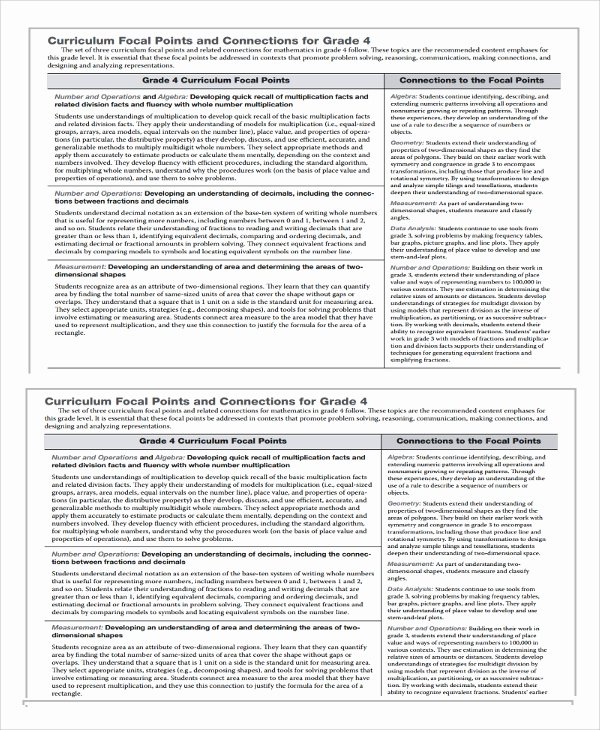 Math Lesson Plan Template Elegant Sample Math Lesson Plan Template 10 Free Documents Download In Pdf Word