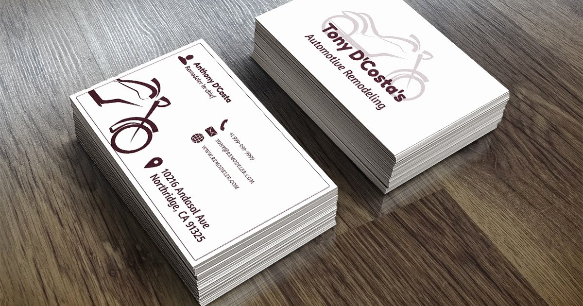 Mechanic Business Cards Templates Free Luxury 10 Automotive Business Card Templates Fully Customisable Line