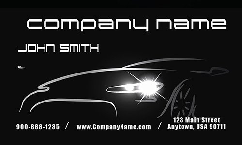 Mechanic Business Cards Templates Free New Auto Mechanic Business Cards Free Shipping