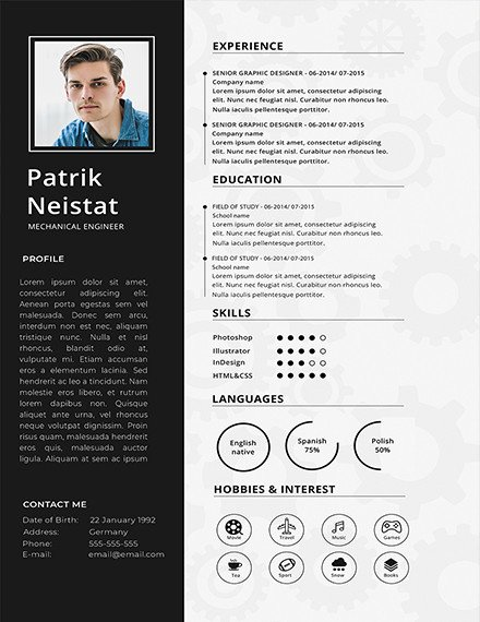 Mechanical Engineer Resume Template Elegant 10 Mechanical Engineering Resume Templates Pdf Doc