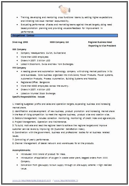 Mechanical Engineer Resume Templates Fresh Mechanical Engineering Resume format Page 2