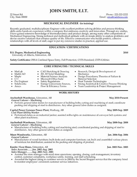 Mechanical Engineering Resume Template Lovely Here to Download This Mechanical Engineer Resume Template Umetemplates101