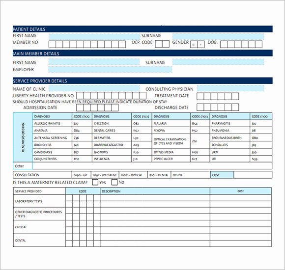Medical Bill Template Pdf Elegant Free 19 Medical Receipt Templates In Pdf