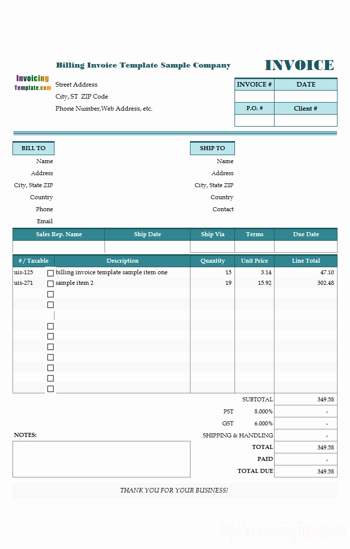 Medical Bill Template Pdf Inspirational Construction Invoice Template