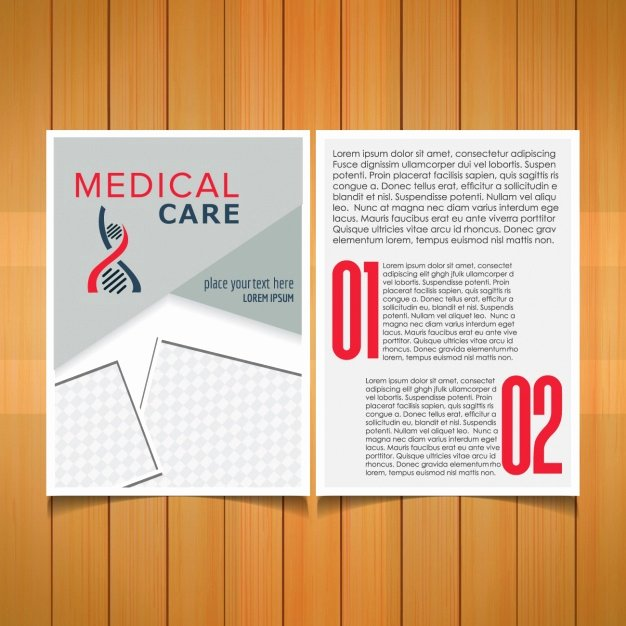 Medical Brochure Templates Free Fresh Medical Brochure Template Vector