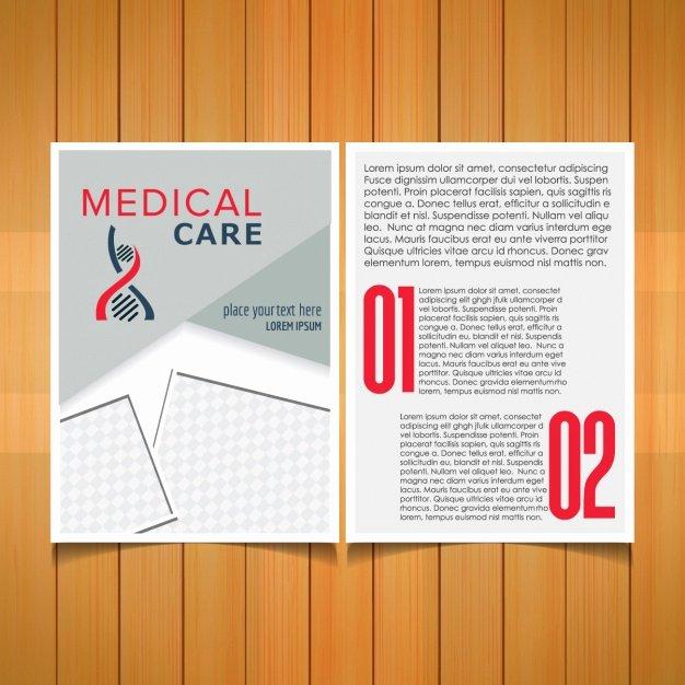 Medical Brochure Templates Free Fresh Medical Brochure Template Vector