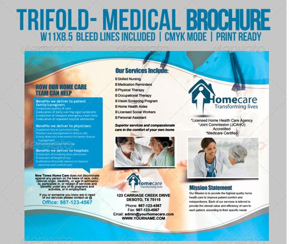 Medical Brochure Templates Free Inspirational 12 Daycare Brochure Templates Free Download