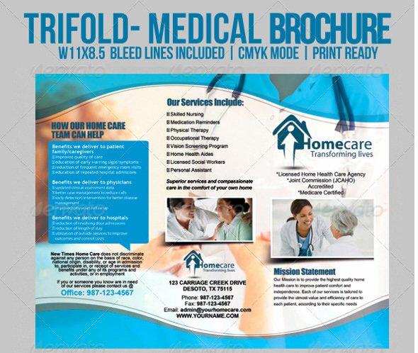 Medical Brochure Templates Free Inspirational 12 Daycare Brochure Templates Free Download
