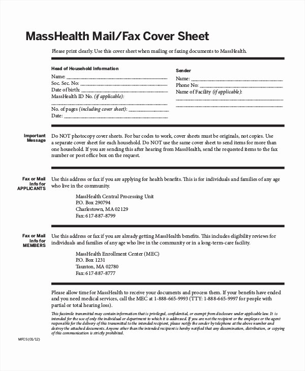Medical Fax Cover Sheet Awesome Fax Cover Sheet Template 15 Free Word Pdf Documents Download
