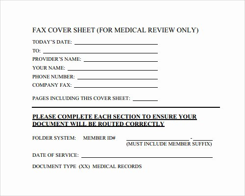 Medical Fax Cover Sheet Beautiful Fax Cover Sheet Template 28 Download Free Documents In Pdf Word