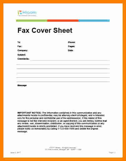 Medical Fax Cover Sheet Lovely 6 Medical Fax Cover Sheet Confidentiality Statement
