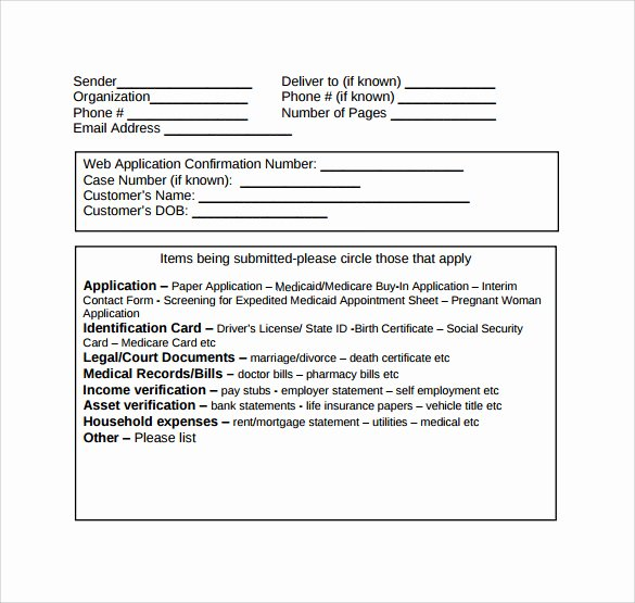 Medical Fax Cover Sheet New Medical Fax Cover Sheet 14 Documents In Pdf Word