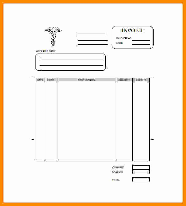 Medical Records Invoice Template Inspirational 7 Medical Records Fee Invoice
