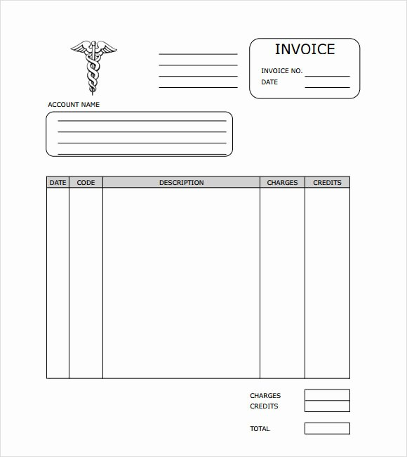 Medical Records Invoice Template Unique Medical Records Fee Invoice