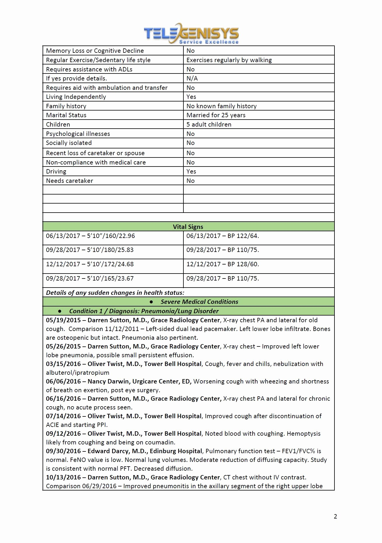 Medical Records Summary Template Luxury Medical Chronology Medical Summaries