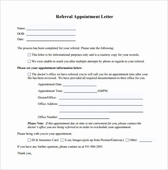 Medical Referral Letter Template Lovely 18 Doctor Letter Templates Pdf Doc