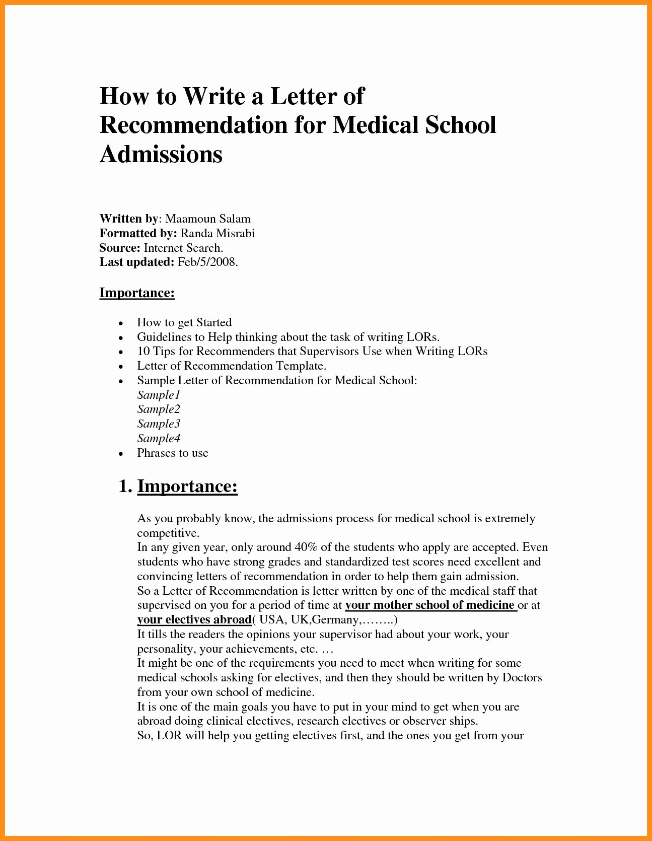 Medical Referral Letter Template Lovely Letter Financial Responsibility Template Samples