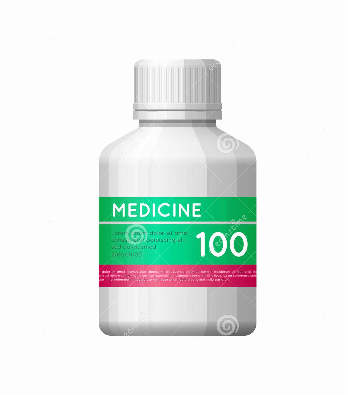 Medicine Bottle Label Template Fresh 53 Label Design Templates