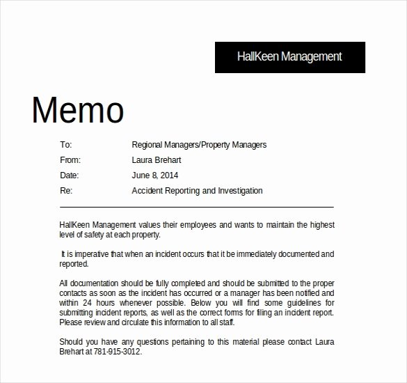 Memo Template Google Docs Unique 16 Professional Memo Templates – Sample Word Google Docs format Download