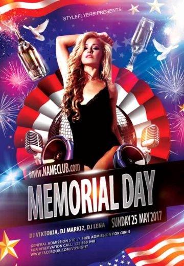 Memorial Day Flyer Template Free Inspirational Download Free Memorial Day Flyer Psd Templates for Shop
