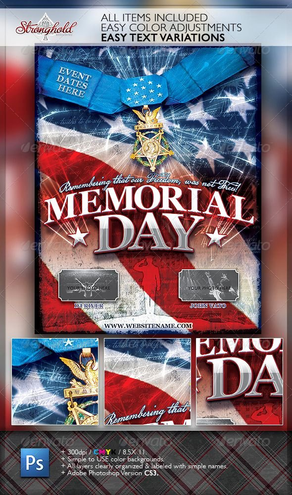 Memorial Day Flyer Template Free Lovely Pin by Indworks On Graphic Designs