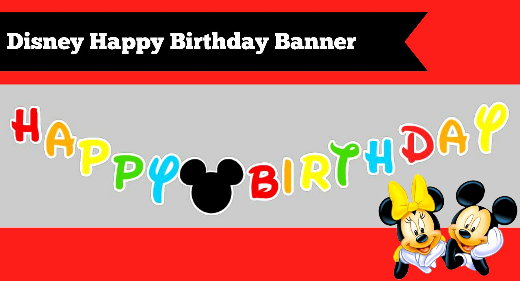 Mickey Mouse Birthday Card Template Beautiful How to Make A Diy Mickey Mouse Clubhouse Inspired Happy