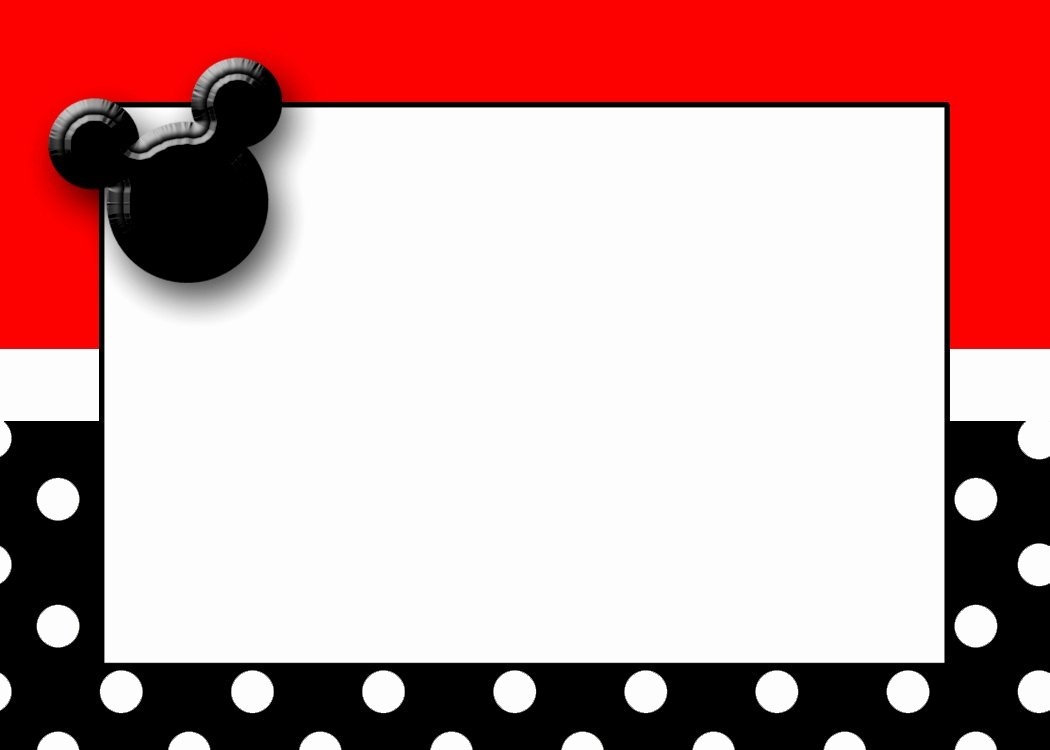 Mickey Mouse Birthday Card Template Unique Free Printable Mickey Mouse Birthday Cards