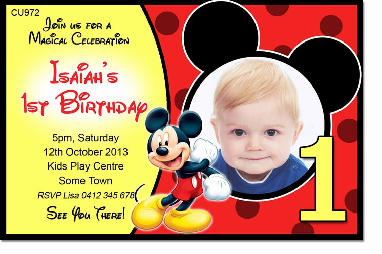Mickey Mouse Birthday Invitation Template Inspirational 40th Birthday Ideas Birthday Invitation Maker Mickey Mouse