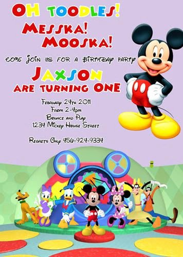 Mickey Mouse Clubhouse Birthday Invites Fresh 34 Best Images About Mickey Mouse Clubhouse 2nd Birthday Ideas On Pinterest