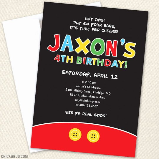 Mickey Mouse Clubhouse Birthday Invites Fresh Exclusive Mickey Mouse Clubhouse Birthday Invitations