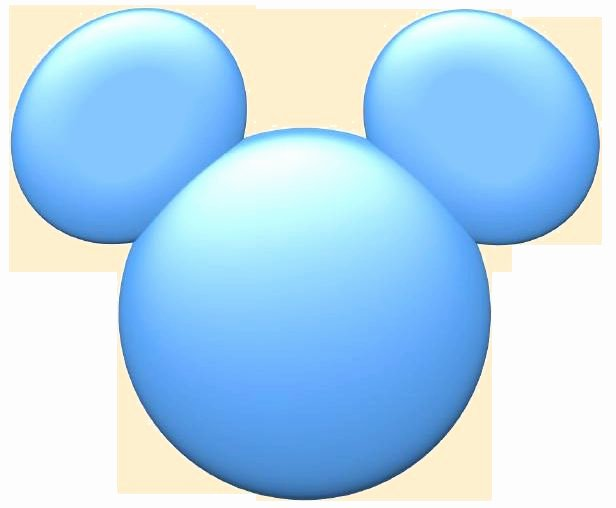 Mickey Mouse Face Template Fresh Mickey Mouse Blue Face Blank Template Imgflip