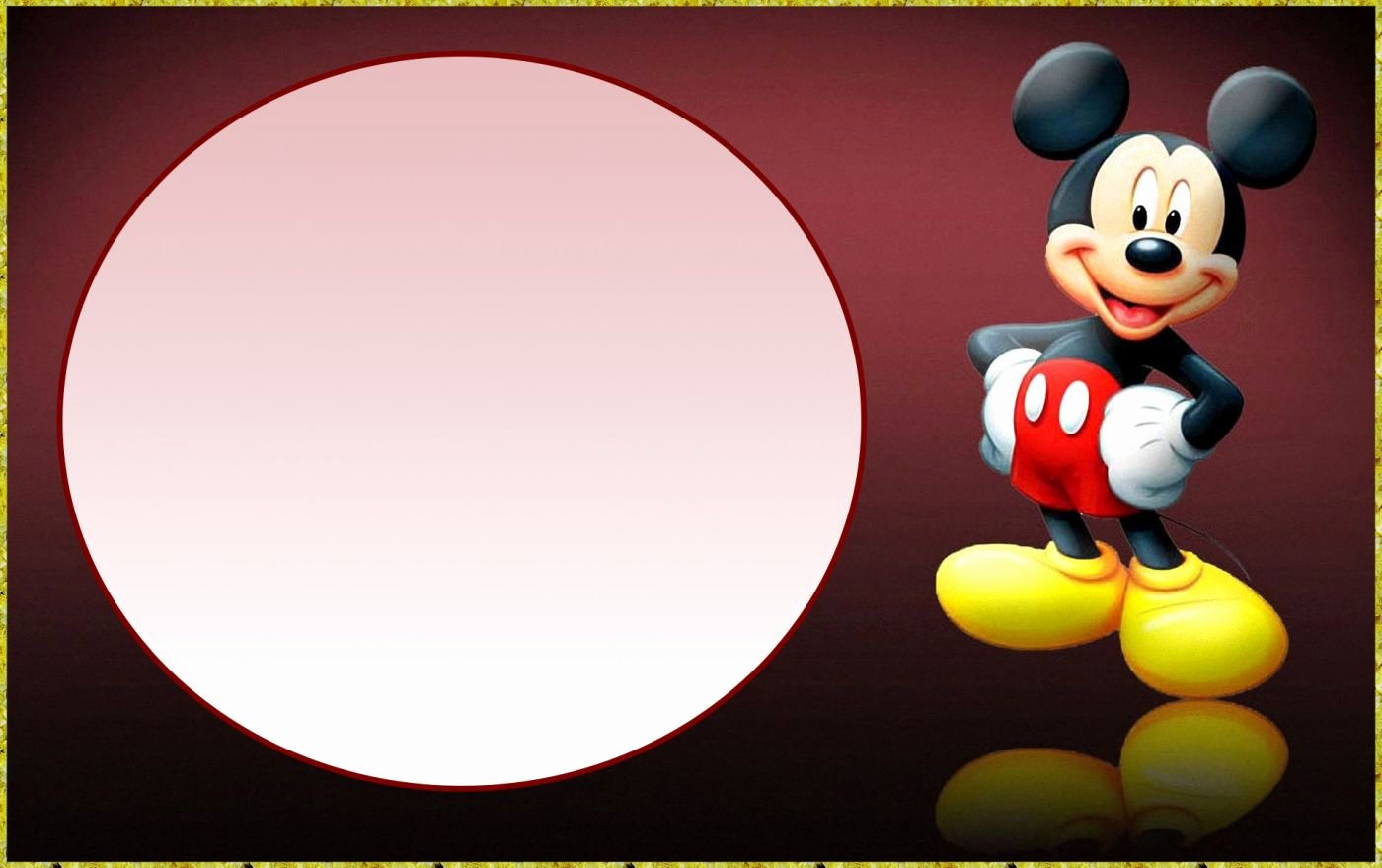 Mickey Mouse Invitations Templates Inspirational Mickey Mouse Invitation Free Templates