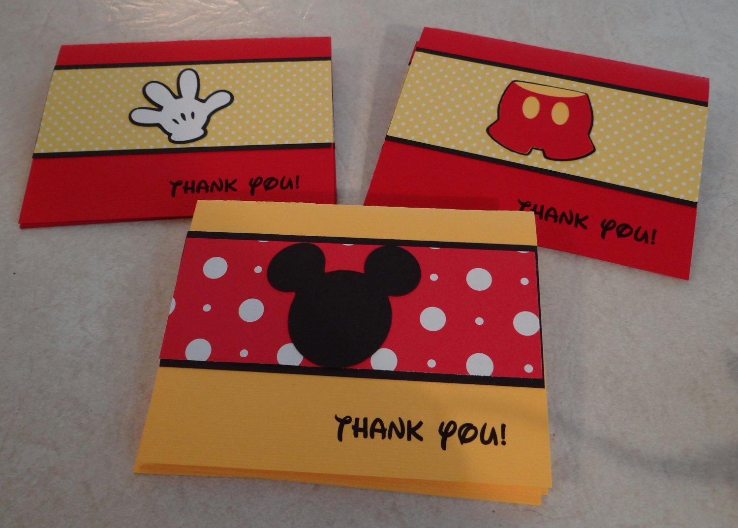 Mickey Mouse Thank You Cards Awesome Mickey Mouse Thank You Cards Birthday Supplies Party