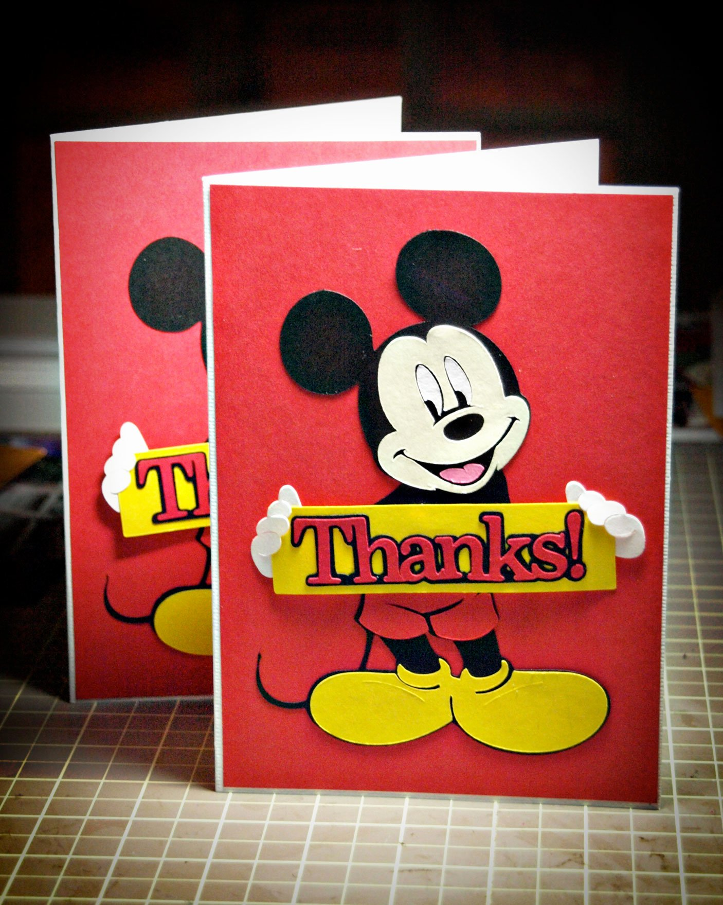 Mickey Mouse Thank You Cards New Disney Mickey and Friends