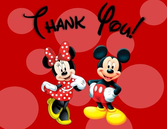 Mickey Thank You Cards Fresh Minnie and Mickey Mouse Thank You Cards Printable Digital File 2 Pdfs Instant Download