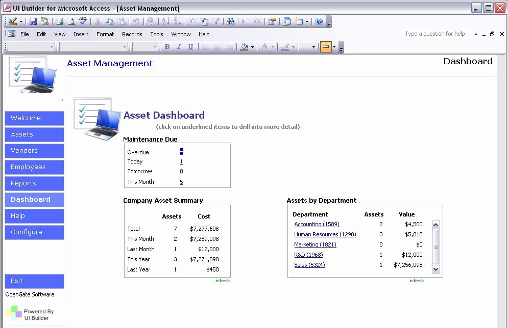 Microsoft Access Project Management Template Fresh Microsoft Access Templates Powerful Ms Access Templates Built On Ui Builder for Microsoft Access